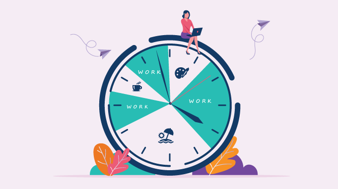 Flexible work hours means better work life balance